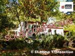 A vendre CAMPS LA SOURCE maison de 136m² type 3 en pleine campagne sur 6900m²