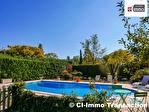 A vendre sur Forcalqueiret en Provence Verte, Maison T5 de plain-pied de 138m² avec piscine et dépendances sur 5350m²