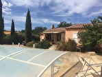 A vendre Forcalqueiret, Maison Type 5 pièce(s) de 120 m² avec piscine édifiée sur 1800m²