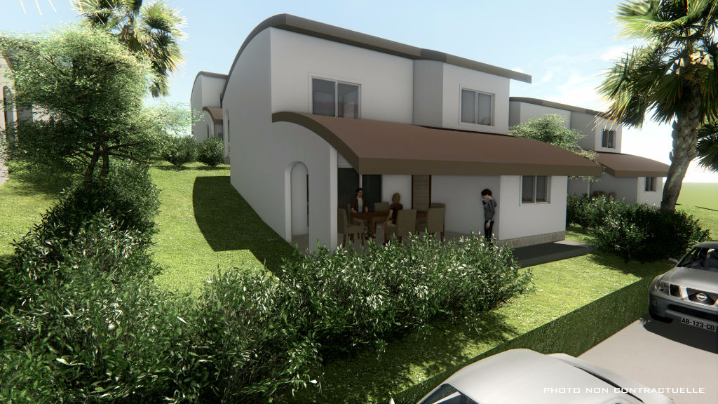 A saisir maisons de ville t4 en vefa sur pamatai for Acheter une maison a tahiti