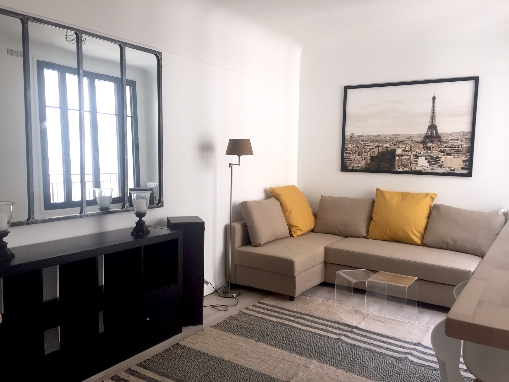Appartement 2 pièces meublé entièrement refait à neuf