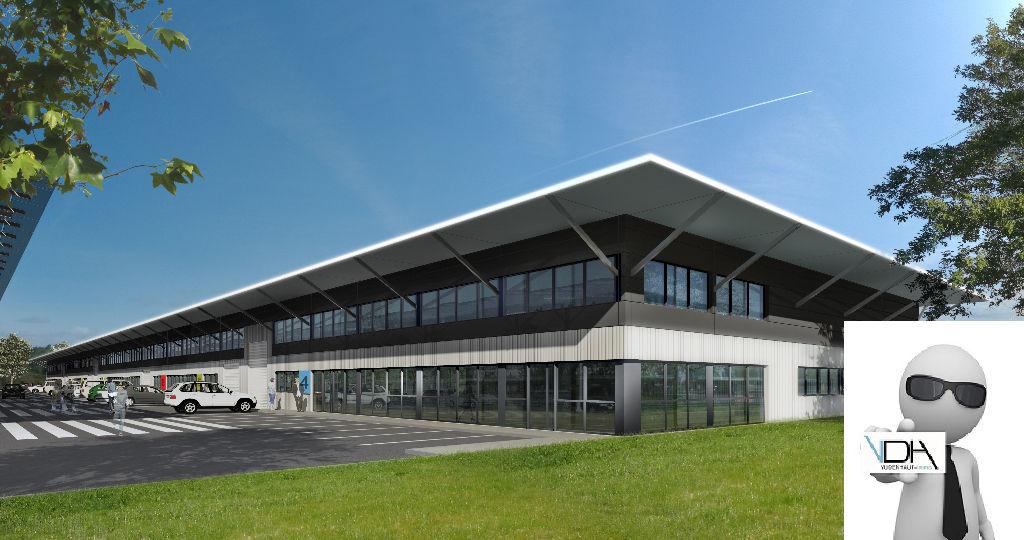 Local d'activités de 517 m²