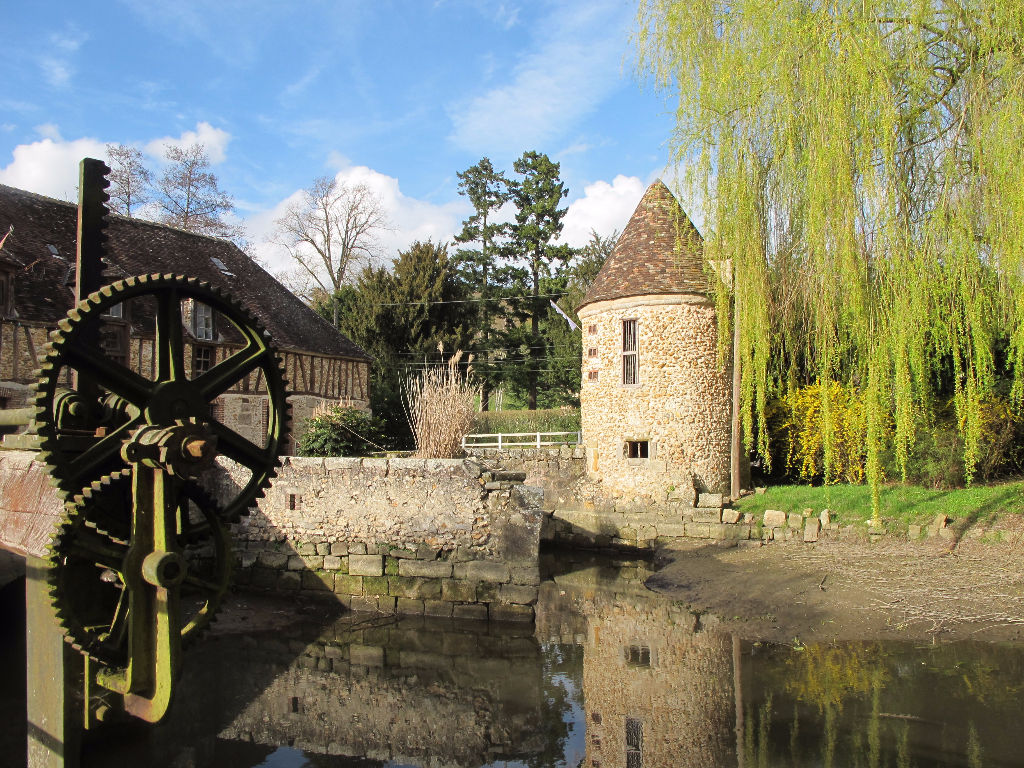 A vendre moulin Houdan