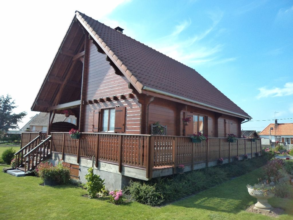 Maison en bois St Omer