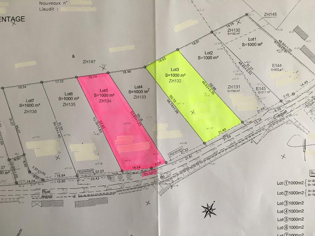 2 terrains Esquerdes 1000 m2