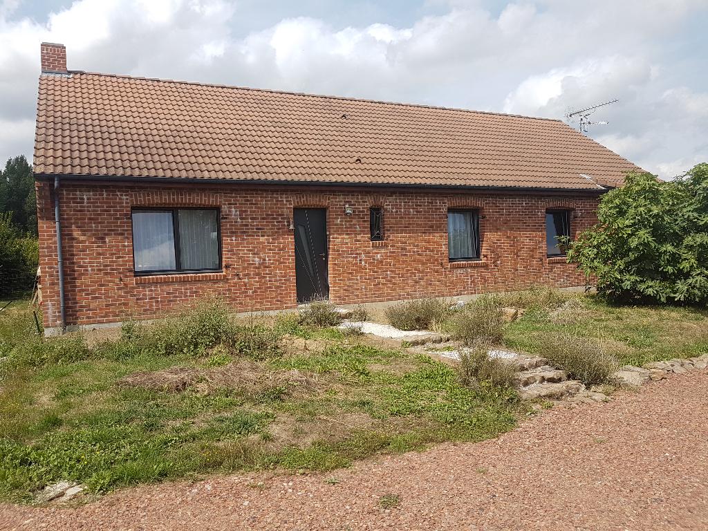 Maison plain pied Auchy Au Bois 3 chambres 115 m2
