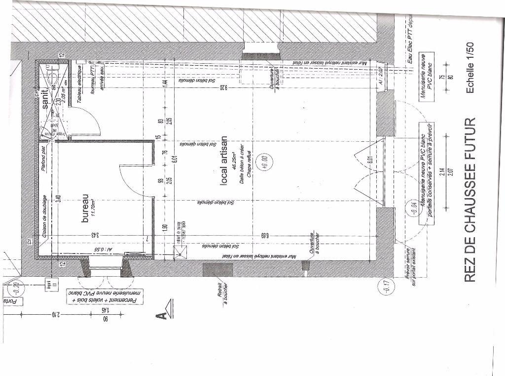 Local d'activité St Sulpice Le Verdon 2 pièce(s) 60 m2
