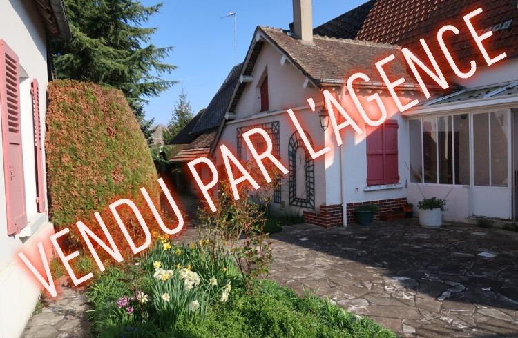A VENDRE - MAISON AVEC DEPENDANCES - PROCHE NOGENT LE ROI - 4 PIECES