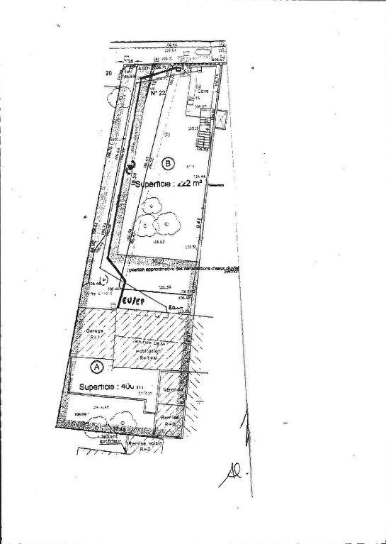 Terrain Attainville 222 m2