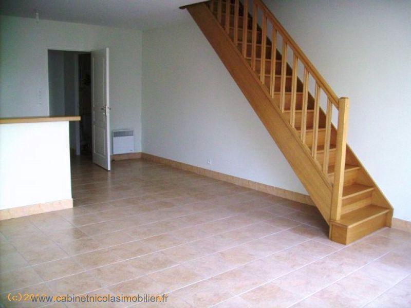 A vendre appartement T3 duplex-LES TOUCHES CENTRE VILLE