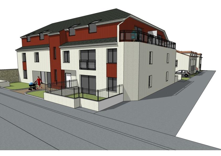 PINEL 2020 : NANTES T3 NEUF terrasse 9,63 m2  et jardin 24 m 2
