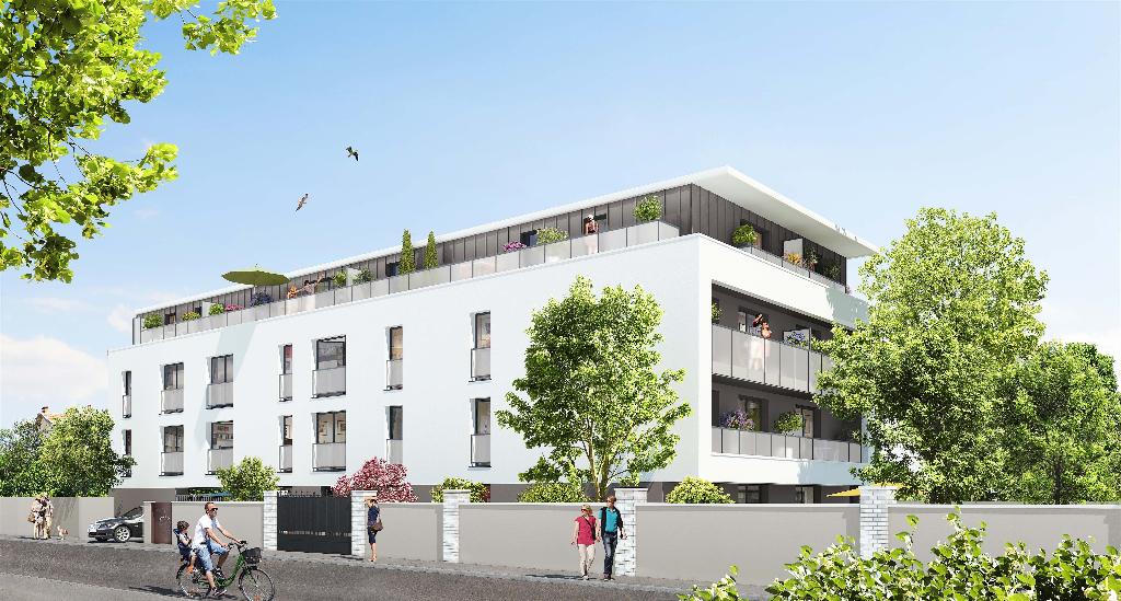 A VENDRE  T3 NEUF DERNIER ETAGE   avec TERRASSE Quartier LONGCHAMP