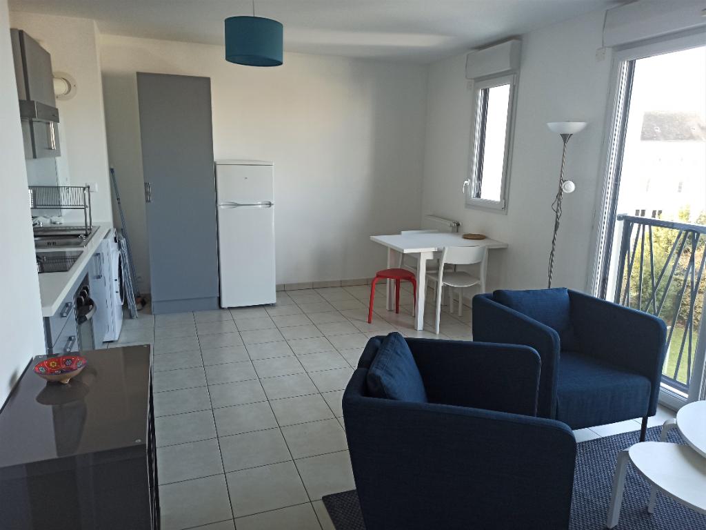A louer Nantes-Rond-poind-de-Vannes, appartement T2 meublé