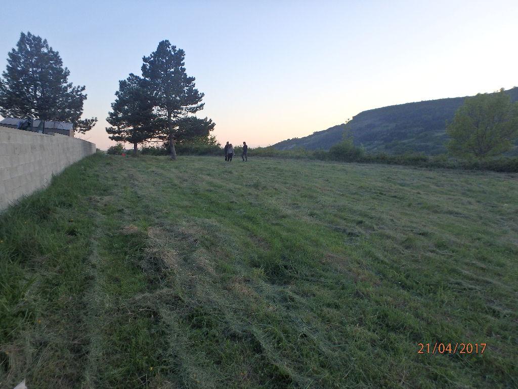 Terrain plat & ensoleillé - orienté Sud-Ouest - vert & calme - vue panoramique - facile d'accès