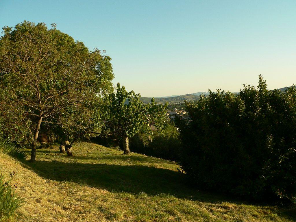 RESIDENTIEL AUBENAS - Beau  terrain constructible et divisible  2493 m²  &  maison à restaurer  &  cabanon aménagé