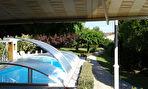 Jolie maison de ville + piscine , garage et petite dépendance