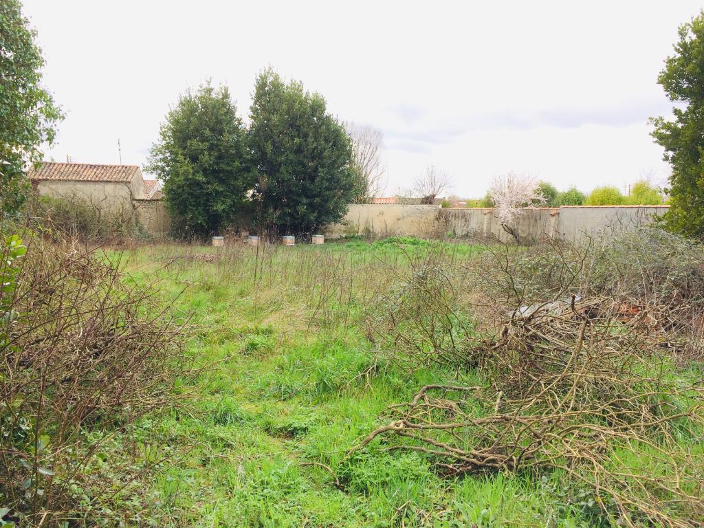 Terrain à bâtir St Jean d'Angély