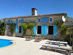 Grande maison charentaise -piscine - dépendance