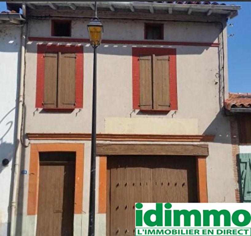CINTEGABELLE-Maison de village 3 pièce(s) 130 m2
