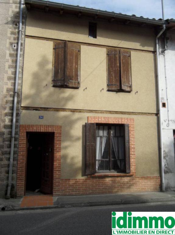 GAILLAC-TOULZA-Maison de village 4 pièce(s) 100 m2 avec dépendance