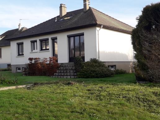 Maison 4 chambres sur 1200 m² de terrain à 25 mn Ouest de Beauvais