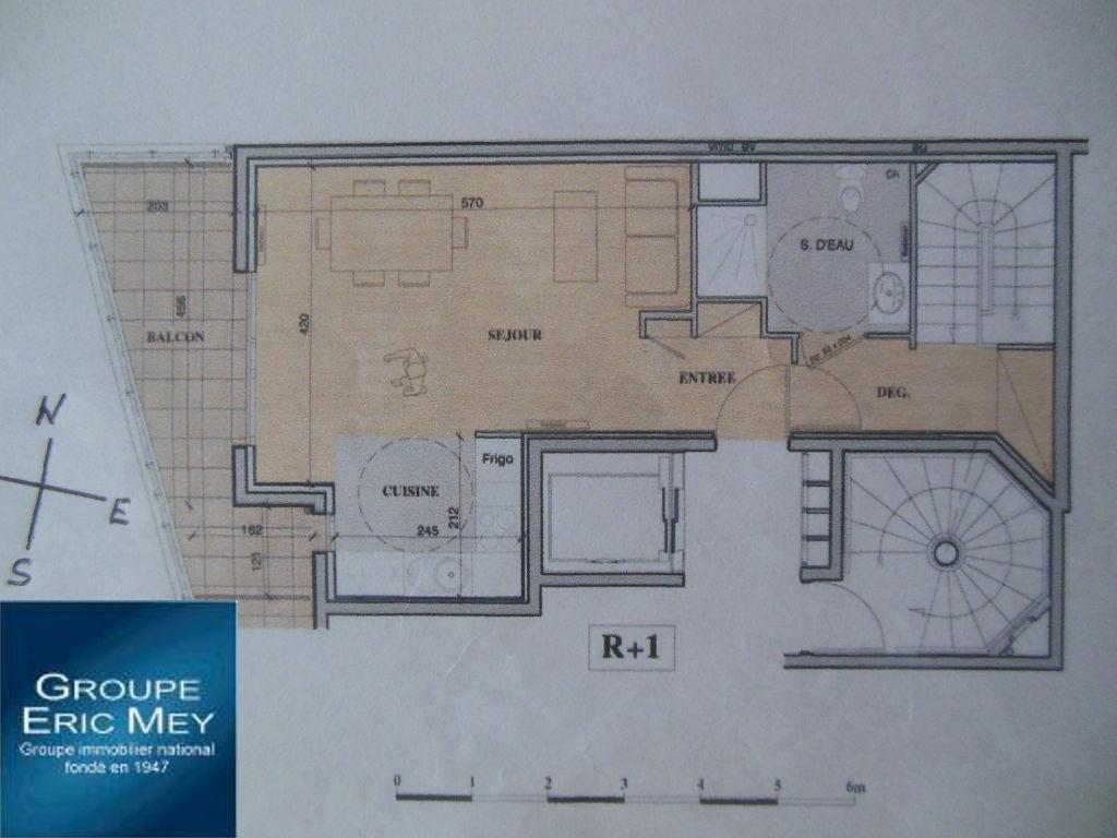 Appartement NEUF : duplex 4 pièce(s) 88 m2+Balcon+Parking-ALFORTVILLE