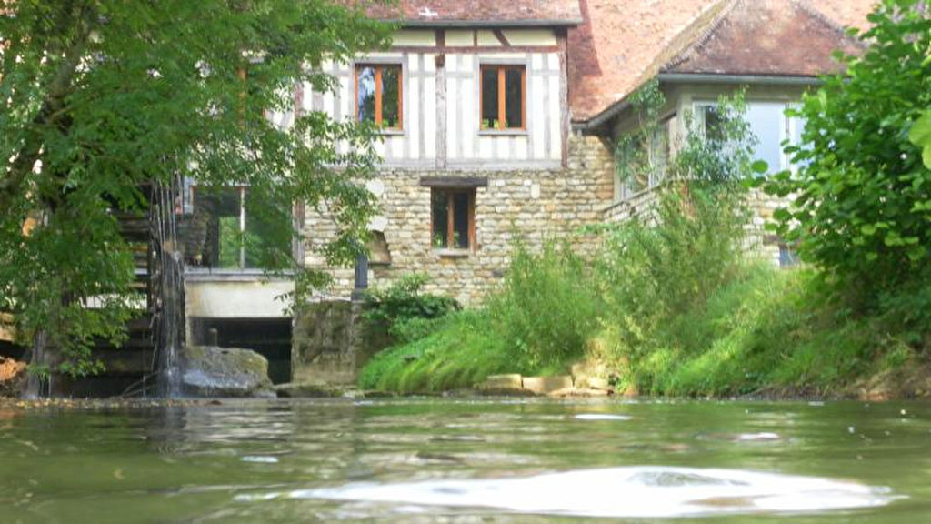 10140 MOULIN proche lacs foret d Orient sur 2 hectares et 300 m²avec 2 maison