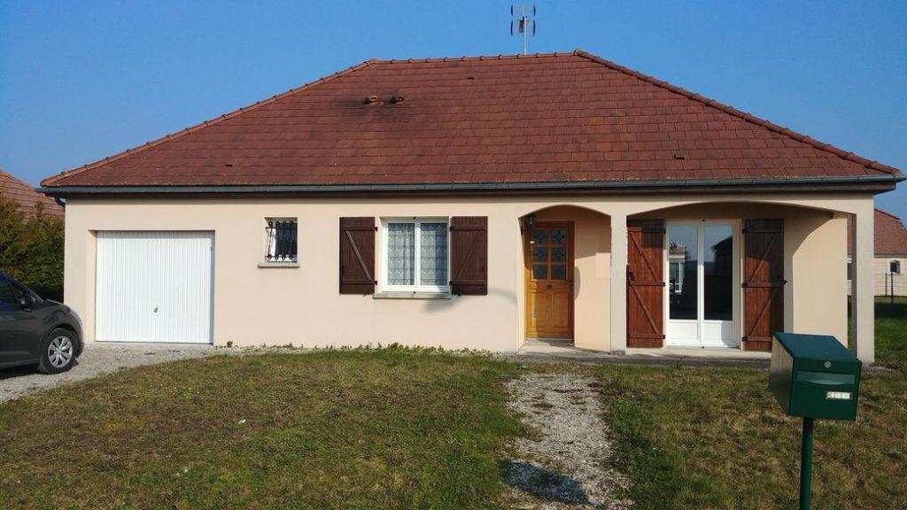 Arcis Sur Aube (10 700) Pavillon 2007 T5 Plain Pied 100 m2 sur 834m² de terrain