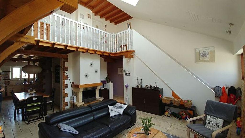 Saint Julien (10 800) Loft Atypique 118m² avec garage 28m²