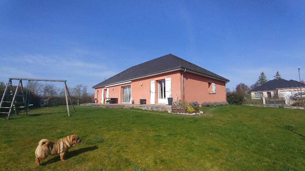 Rouilly Sacey (10 220 ) Pavillon T6 115 m2 sur 1254m² de terrain