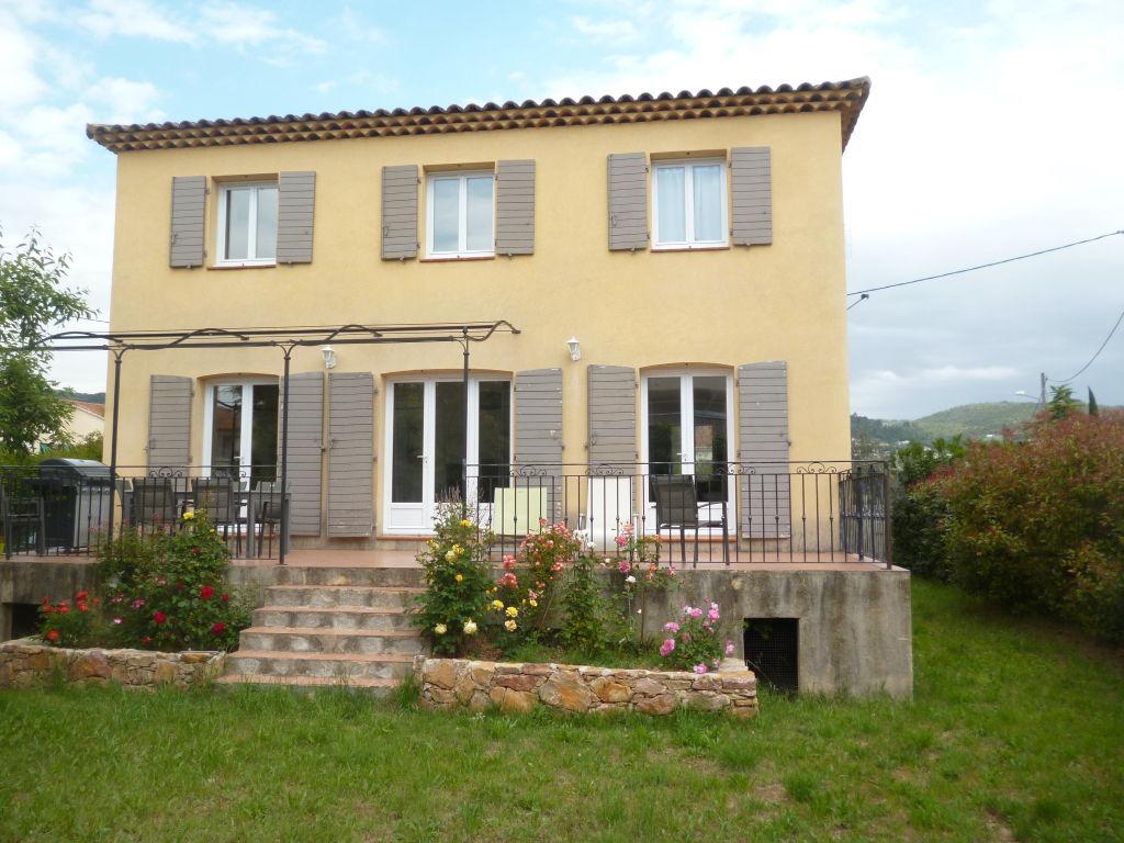 Exclusivité Draguignan quartier calme et résidentiel belle villa 2001 F5 130m terrasse 570m terrain 3210000€ comission vendeur
