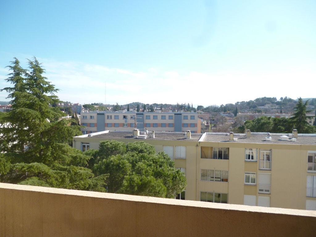 Exclusivité Draguignan dans résidenec sécurisée F4 traversant  5éme étage ascenceur terrasse cave 147660€ crn1849 lot 50 charges 1200€/an commission vendeur