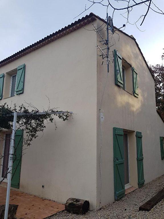 Exclusivite Draguignan quartier calme jolie villa récente F4 terrasse garage sur 437m terrain plat et clos tout à l'égout 283550€ crn1945 lot 58 360€/an charges commission vendeur