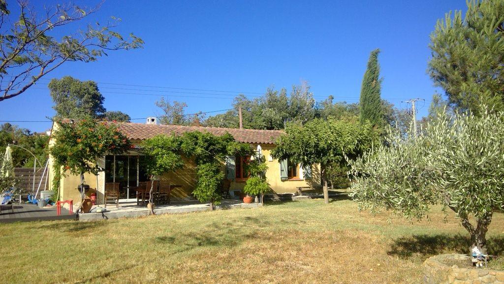 Exclusivité Draguignan jolie villa F4 pp de 2004 terrasse piscine hors sol 4000m de terrain 283550€ crn1961 dpe c ges b commission vendeur