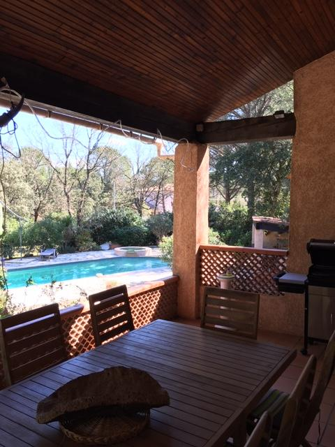 Vidauban belle villa F5 pp 2500m terrain piscine gge 398950€