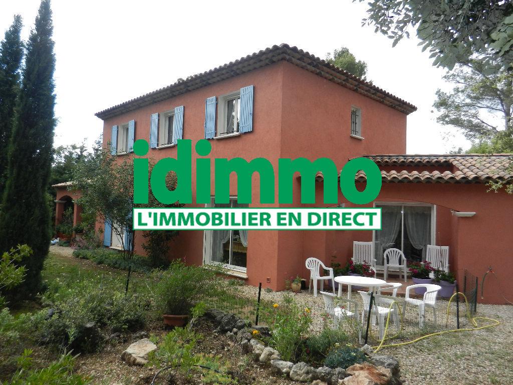 A voir Flayosc belle villa de 200m² F6 de 2006 sur 4000m terrain plat 554400euros crn2003