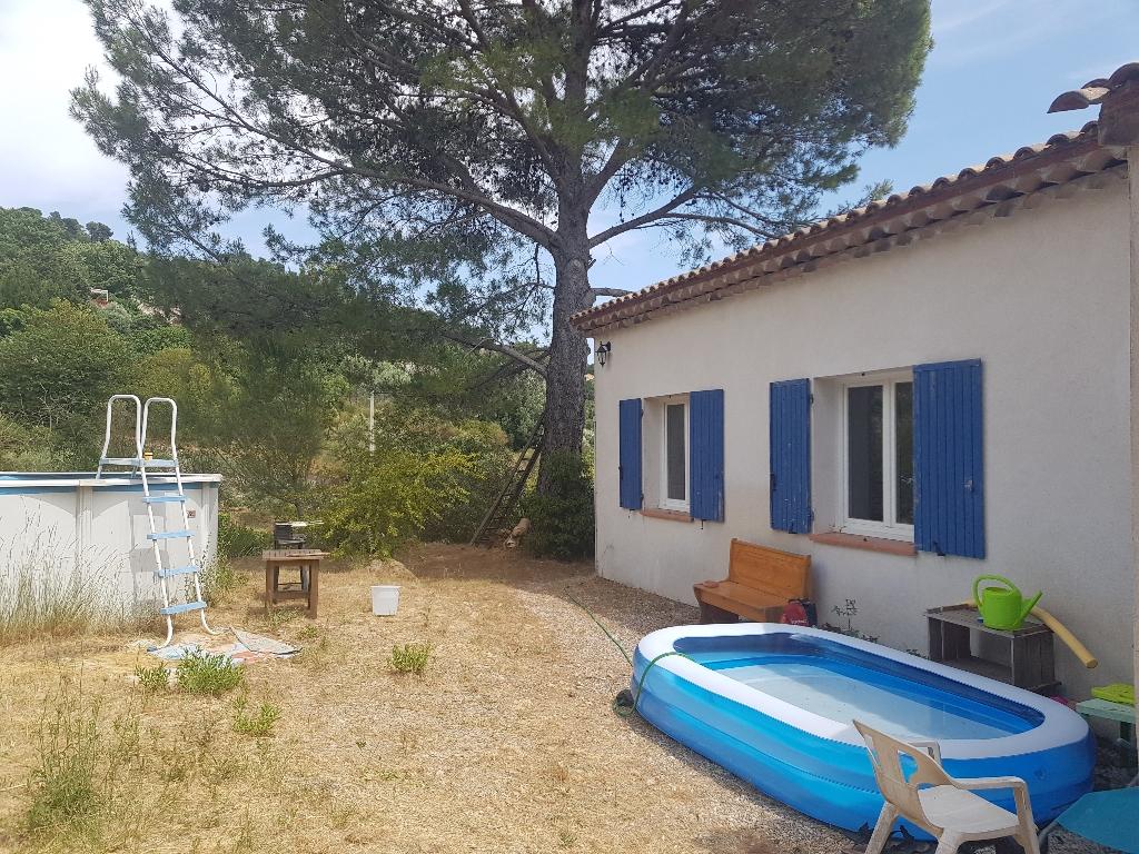 Draguignan proche centre Villa F5 135 m2 sur 1200 m2 terrain 254400€