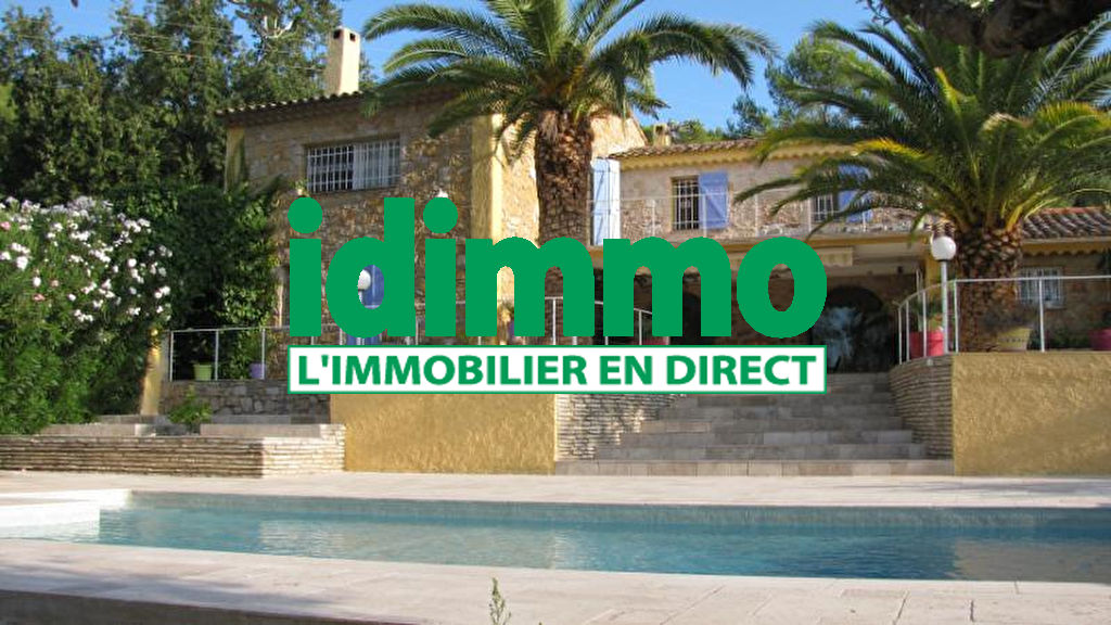 La Motte Villa  de charme  250 m2 sur 4300m2 terrain 676000€  crn2050
