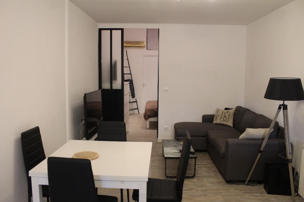 Exclusivité Draguignan dans résidence calme F2  refait à neuf de 38 m² + terrasse