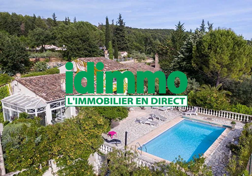 Draguignan villa F4 145m+véranda+hangar piscine terrasse 3000m terrain 523950€ crn2117