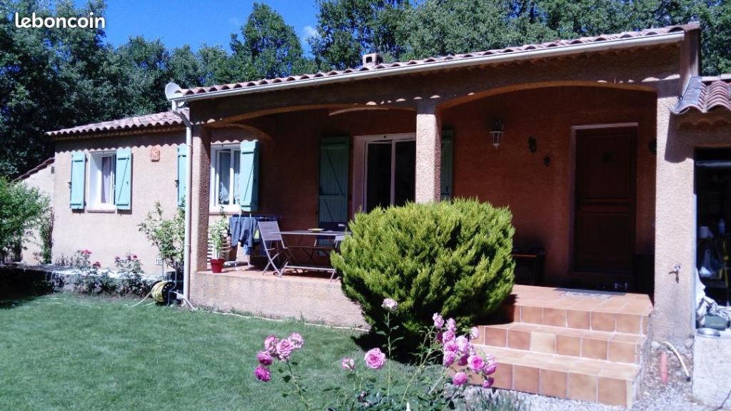 Affaire Tourtour jolie villa F4 pp sur 1200m terrain garage terrasse 263940€ crn2139