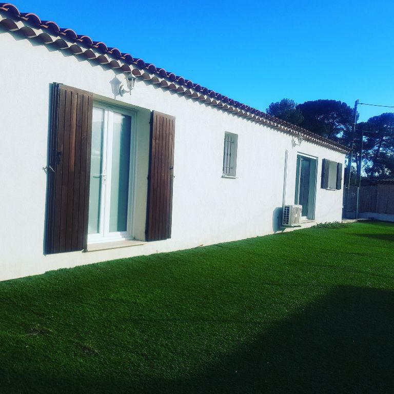Exclusivité Draguignan jolie villa F4 105m pp 2013 terrain 500m tout à l'égout 341250€ crn2142