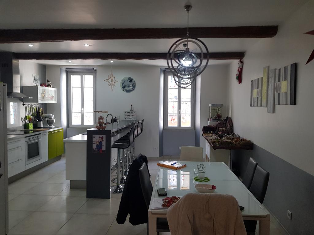 Rare le Muy belle maison de ville F4 100m+50m amé terrasse gge 48m 252280€ dpe c