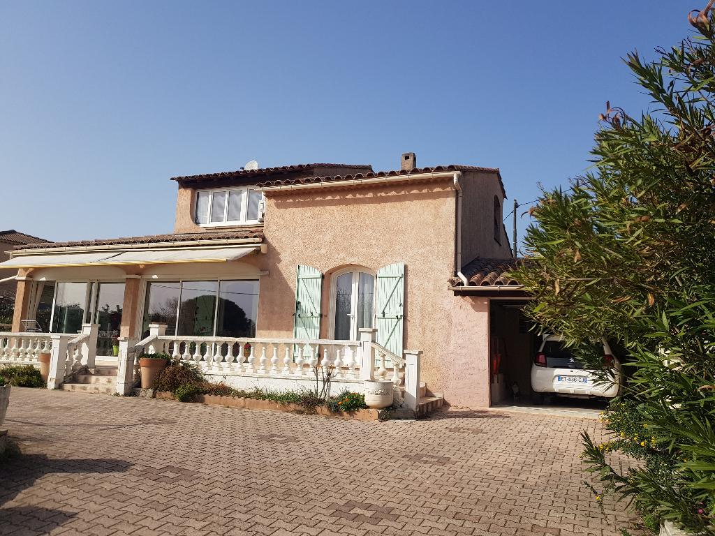 Draguignan quartier calme villa F6 de 160m sur 880m terrain tt à égout 388500€ crn2172
