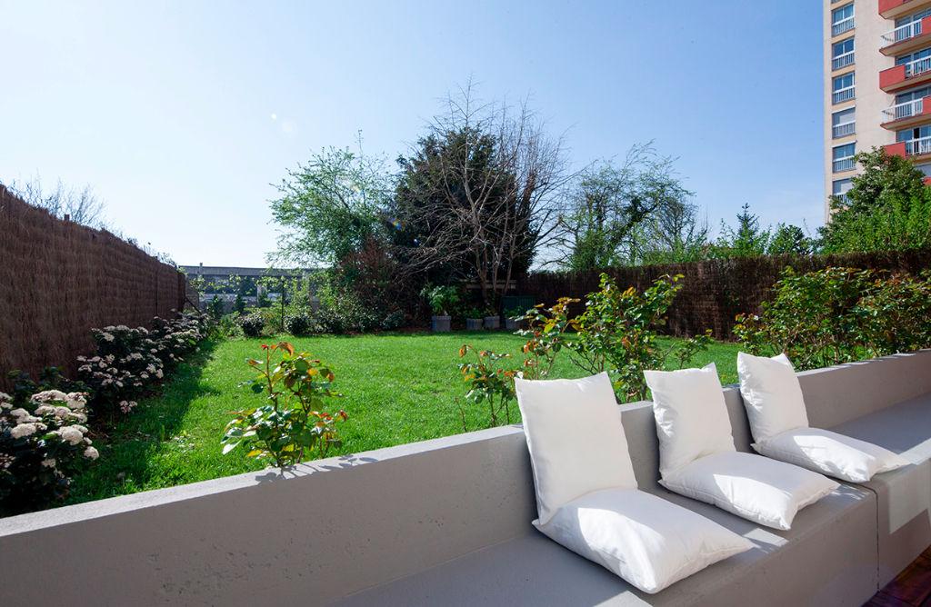 Appartement Saint Denis 5 pièce(s) avec jardin