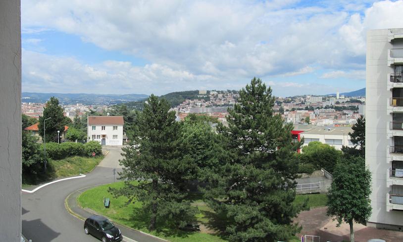 Saint Etienne : lumineux T2 à La Cotonne + Garage