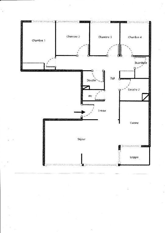 LYON 3 : T5 95 m² + cave + garage