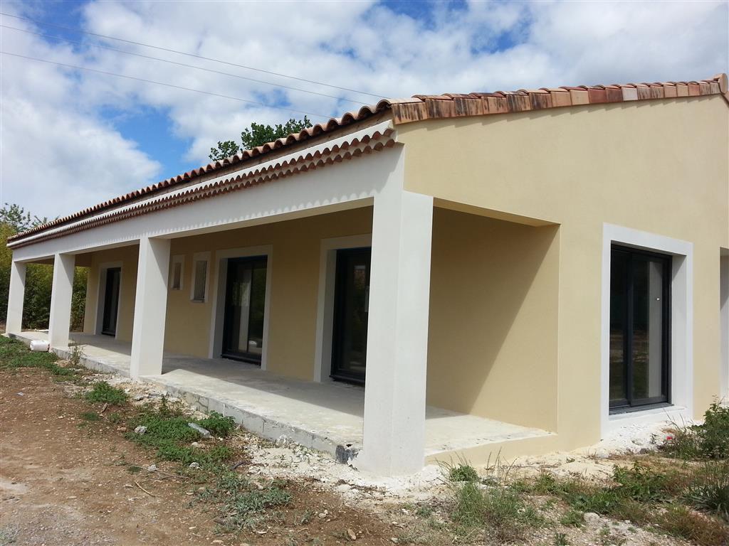 Villa neuve 145 m² -  Hors d'eau - Hors d'air - A  terminer