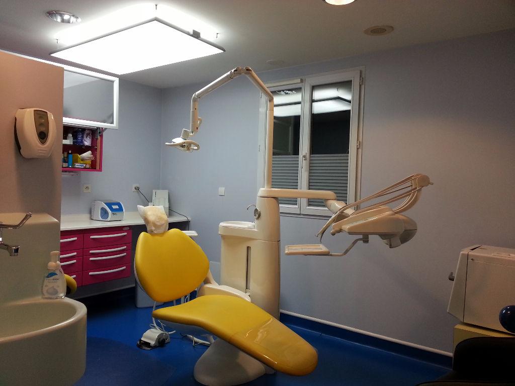 Murs et fond cabinet dentaire