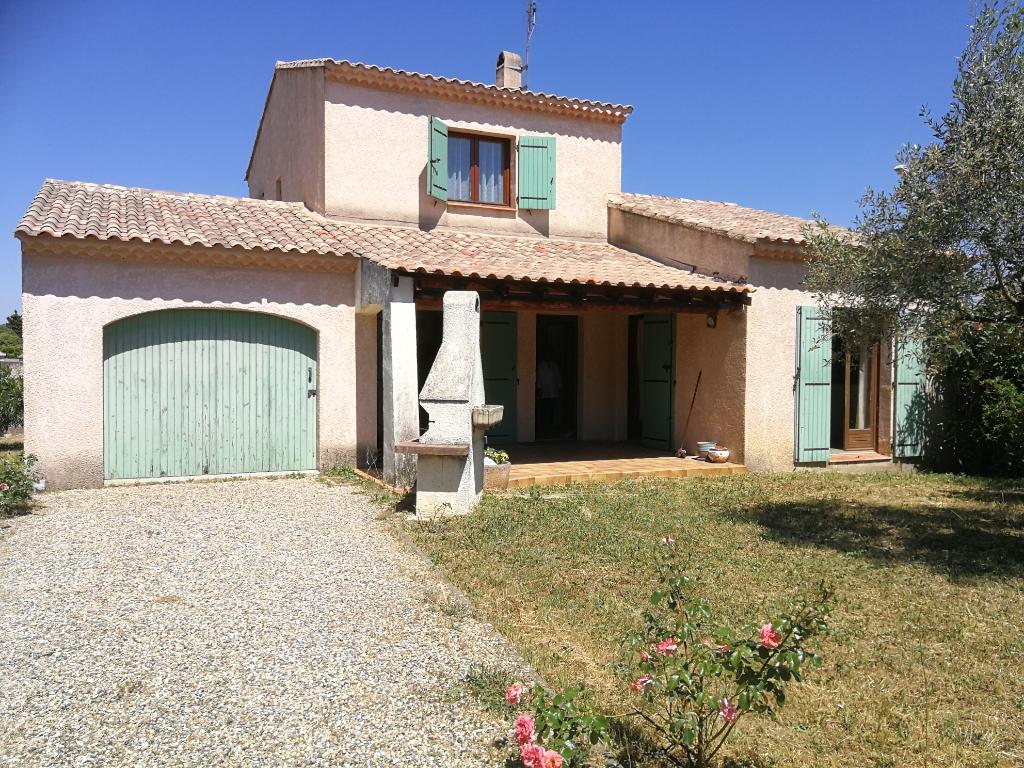 Villa 100 m² - 3 chambres - Garage sur terrain 648 m²